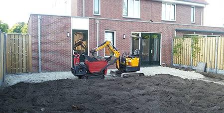 zand voor bestrating Antwerpen