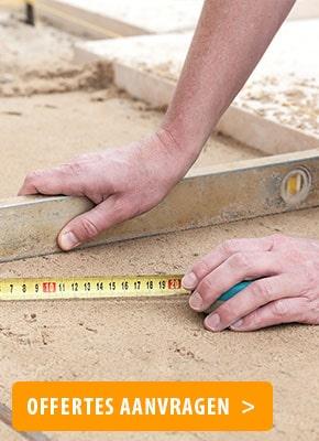 Bestrating zand