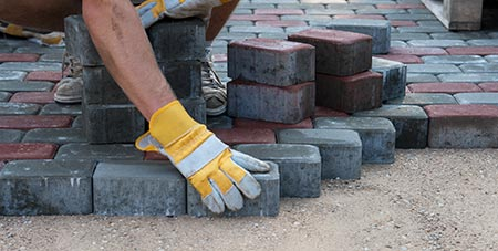 betonklinkers in Kontich leggen